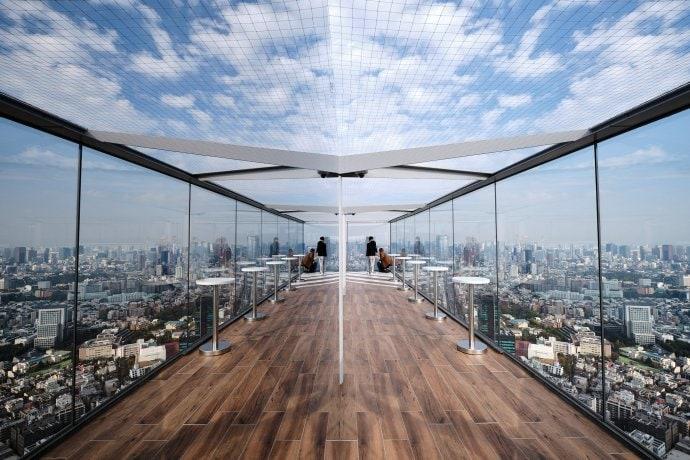 Über den Dächern von Tokio